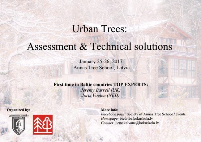 Urban Trees - Assessment  Technical solutions. Poster